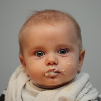Baby Feeding Portrait